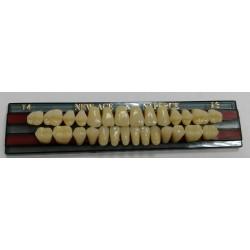 Зубы NEW ACE & Naperce Цвет A3 фронт. гр. размер T4 (полный гарнитур)