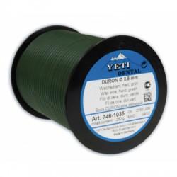 Восковая проволока DURON, D-5,0мм, твердая, зеленая 250г