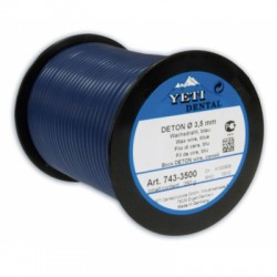 Восковая проволока DETON, D-4,0мм, средняя твердость, голубая, 250г
