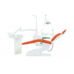 Установка стоматологическая QL-2028 (Pragmatic) с нижней подачей цвет P02 зелёный