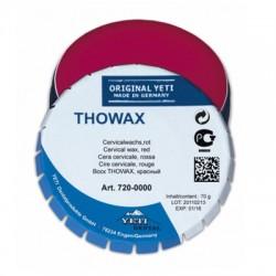 Воск цервикальный THOWAX, красный, жестяная банка 70г
