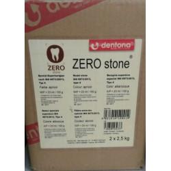 Гипс ZERO stone®(2*2.5 кг.)