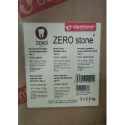 Zero Stone Гипс стоматологический (абрикосовый) 5 кг.