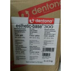 Гипс стоматологический Esthetic-base 300. 5 кг.